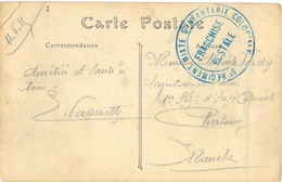 GUERRE 14-18 5e RÉGIMENT MIXTE D'INFANTERIE COLONIALE Le 11-6-15 - Poststempel (Briefe)