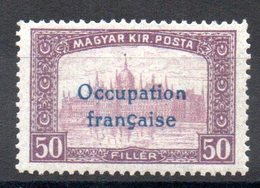 HONGRIE ARAD - YT N° 14 Signé - Neuf ** - MNH - Cote: 2,60 € - Hongrie (1919)