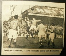 Beerschot-Standard : Voetbal 1949 - Documents Historiques