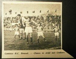 Gantoise-R.C.Brussel : Voetbal 1949 - Documents Historiques
