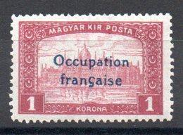 HONGRIE ARAD - YT N° 18 Signé - Neuf ** - MNH - Cote: 3,50 € - Unused Stamps