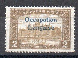 HONGRIE ARAD - YT N° 19 Signé - Neuf ** - MNH - Cote: 2.70 € - Unused Stamps