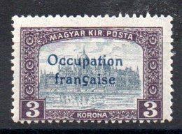 HONGRIE ARAD - YT N° 20 Signé - Neuf ** - MNH - Cote: 4,30 € - Unused Stamps