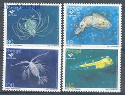 Portugal 1997 Mi 2218-2221 MNH ( ZE1 PRT2218-2221dav38A ) - Meereswelt
