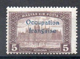 HONGRIE ARAD - YT N° 21 Signé - Neuf * - MH - Cote: 3,30 € - Hongrie (1919)
