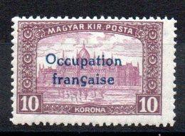 HONGRIE ARAD - YT N° 22 Signé - Neuf ** - MNH - Cote: 32,50 € - Hongrie (1919)