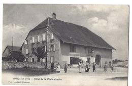 SUISSE - ARNEX-SUR-ORBE - Hôtel De La Croix-Blanche - 1909 - VD Vaud
