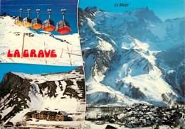 05 - La Grave - Multivues - Télécabines - Voir Scans Recto-Verso - Altri Comuni