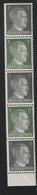 Deutsches Reich / 1941 / Mi. 781/784 Zusammendruck-5er-Streifen ** (AC01) - Se-Tenant