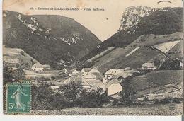 SALINS LES BAINS. CP Voyagée Vallée De Pretin - France
