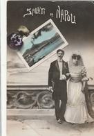 Cartolina -   Postcard  /  Viaggiata / Sent /  Saluti Da Napoli. - Napoli (Nepel)