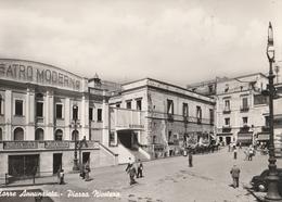 Cartolina -   Postcard  / Non Viaggiata / Unsent /  Torre Annunziata, Piazza Nicotera.  ( Gran Formato ) - Torre Annunziata