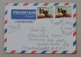 Busta Di Lettera Per Via Aerea Lokossa-Carpi - 17/07/2001 - Benin – Dahomey (1960-...)