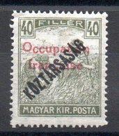HONGRIE ARAD - YT N° 34 Signé - Neuf ** - MNH - Cote: 1,80 € - Hongrie (1919)