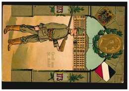 Miltaria-AK Gruss Aus St. Avold - Wachposten Inf.-Regt. 173, Feldpost 1.6.1915 - Allemagne