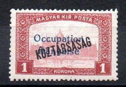 HONGRIE ARAD - YT N° 37 Signé - Neuf ** - MNH - Cote: 2,00 € - Unused Stamps
