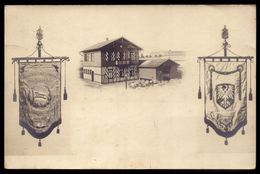 RODER SPORT VEREIN Teutonia FRankfurt. 1888 R.S.V.T.  Old Real Pohto Postcard Photomontage. GERMANY - Non Classificati