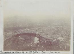 J35 - Photo Originale Début De Siècle - GRENOBLE - Vue Générale Du Mont-Jalla - Bastille - Septembre 1904 - Orte