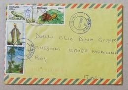 Busta Di Lettera Per Via Aerea Kigali-Medicina(Ita) - 22/01/2009 - Posta Aerea