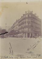 J35 - Photo Originale Début De Siècle - GRENOBLE - Carrefour Avenue Alsace-Lorraine - Boulevard Gambetta - 1903 - Orte