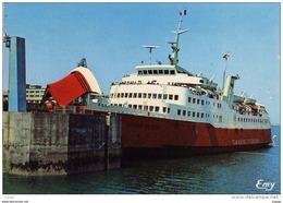 "CHERBOURG Le Car Ferry ""VIKING-VICTORY"" De La Compagnie TOWNSEND THORESEN  2 Scans  TBE - Cherbourg"