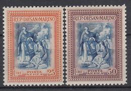 SAN MARINO - Michel - 1947 - Nr 385/86 - MNH** - Poste Aérienne