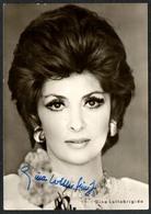 D3564 - Orig. Gina Lollobrigida Autogramm Autogrammkarte - Progress Starfoto - Handtekening