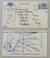 "Busta ""The Queen's Hotel Kimberley"" Per La Svizzera - 30/06/1938 - Cartas"