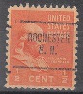 USA Precancel Vorausentwertung Preo, Bureau New Hampshire, Rochester 704 - Vereinigte Staaten