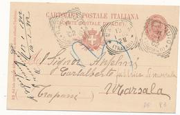 1902 RACALMUTO GIRGENTI TONDO RIQUADRATO - 1878-00 Humbert I