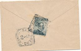 1908 ROSBURGO TERAMO TONDO RIQUADRATO - 1900-44 Victor Emmanuel III