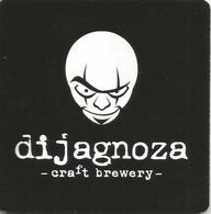 DIJAGNOZA Craft Brewery Coaster From Kovin Serbia - Sous-bocks