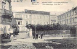 Russia - MOSCOW - Pogedestvenka, Hotel Berlin - Publ. Knackstedt . - Russie