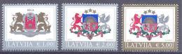 2015. Latvia, COA, 3v, Mint/** - Letland