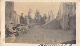 Foto Wingene Zwevezele  Zwevezeele 5-10-1919 Boerderij Groenten  Afm 11 X 6,5 Cm     M 1983 - Wingene
