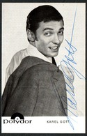 D3578 - Orig. Karel Gott - Autogramm Autogrammkarte - Polydor - Autographes