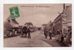 - CPA BLÉRÉ (37) - Rue Paul Louis Courrier (belle Animation) - Edition Baudry - - Bléré