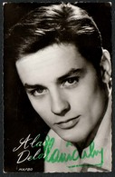 D3582 - Orig. Alain Delon - Autogramm Autogrammkarte - Ernst Freihoff - Autographs