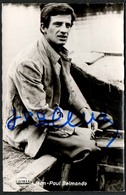 D3583 - Orig. Jean Paul Belmondo - Autogramm Autogrammkarte - Kolibri - Sander Verlag - Handtekening