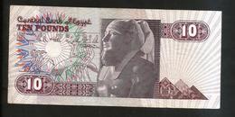 EGYPT - CENTRAL BANK Of EGYPT - 10 POUNDS ( 1996 ) - Egitto
