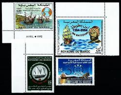 Marruecos LOTE (BARCOS) Nuevo - Marocco (1956-...)