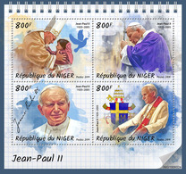 Niger. 2019 John Paul II. (0602a) OFFICIAL ISSUE - Papi
