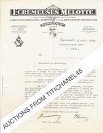Lettre De 1942 REMICOURT - ECREMEUSES MELOTTE - Fabrication D'écrémeuses Et De Clarificateurs Centrifuges - Non Classificati