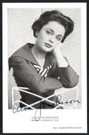D3593 - Orig. Ulla Jacobsson - Autogramm Autogrammkarte - Handtekening