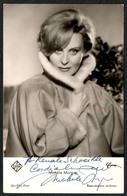 D3594 - Orig. Michèle Morgan - Autogramm Autogrammkarte UFA - Handtekening