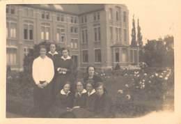 Foto Klas Uit Eeklo Instituut School Anno 1927   Afm 6 X 8,5 Cm      M 1996 - Eeklo