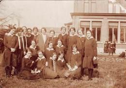 Foto Klas Uit Eeklo Instituut School Anno 1927   Afm 6 X 8,5 Cm      M 1998 - Eeklo