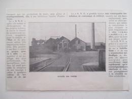 Année (1925) HONFLEUR Rue Victor Hugo - SNC Firme De Charbons Et Agglomérés Du Port  - Ancienne Coupure De Presse - Documents Historiques
