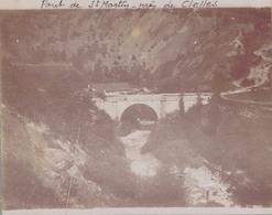 J35 - Photo Originale Début De Siècle - CLELLES - Isère - PONT DE SAINT-MARTIN - Lieux