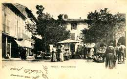 SAULT =  Place Du Marché  1382 - Autres Communes